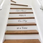 Ideas decoración escaleras con mensaje