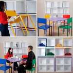 Muebles que solucionan el espacio