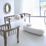 Decoración rústica minimalista