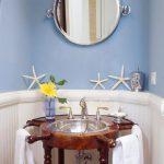 Decoración marinera: baños