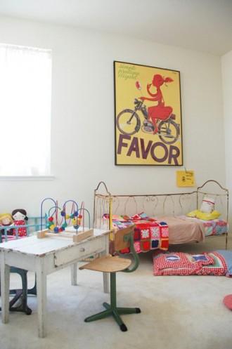 Habitación infantil vintage-8