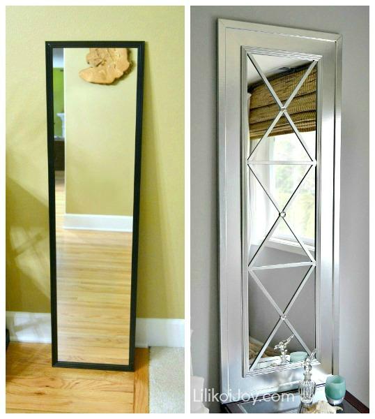 DIY Un espejo elegante y original