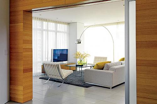 Apartamento familiar minimalista