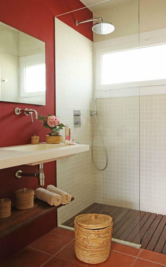 Baño Rustico Contemporaneo:Apartamento reformado en la Costa Brava