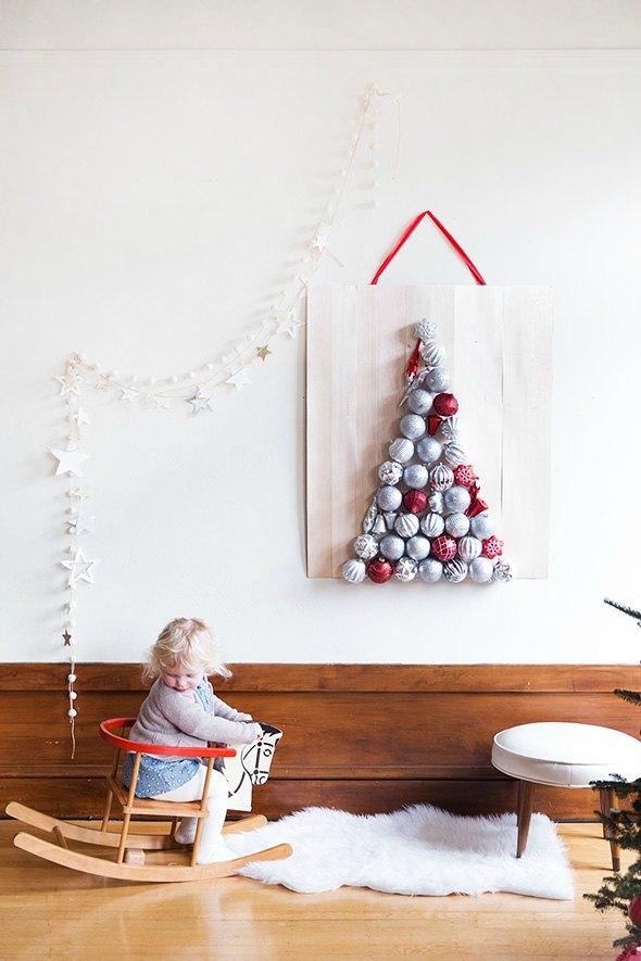 Un rbol de navidad casero decoraci n hogar ideas y for Arboles de navidad caseros y originales