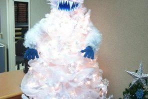 Los 10 árboles de Navidad más extraños
