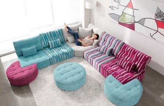 Sof modular arianne love de fama decoraci n hogar for Articulos decoracion hogar baratos