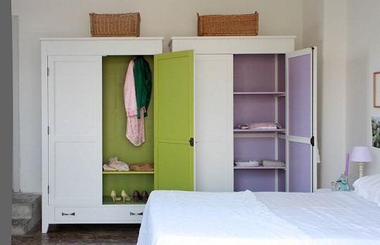 Idea para renovar tus armarios antiguos