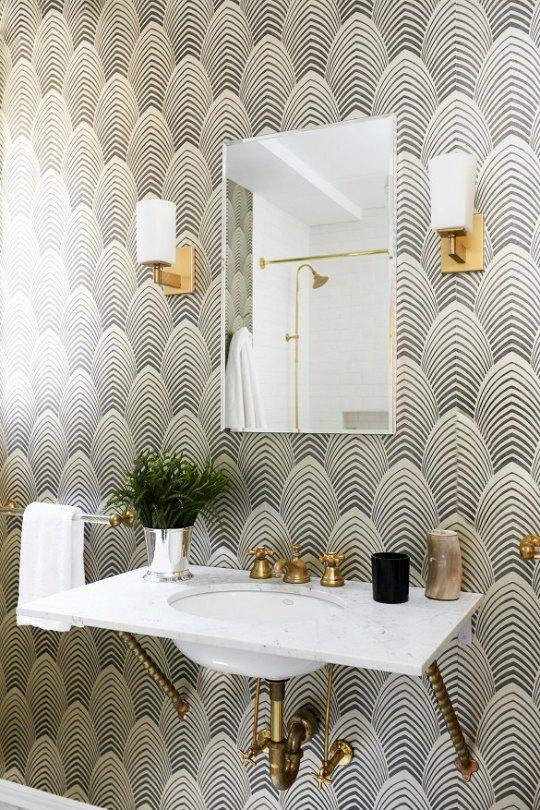 Inspiración para decorar tu aseo o baño de cortesía