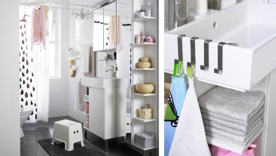 Renovar Baño Pequeno:Renovar el baño con Ikea