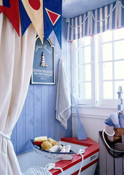Decoracion Baño Marinero:Aquí os traemos algunas ideas de baños piratas, marineros o