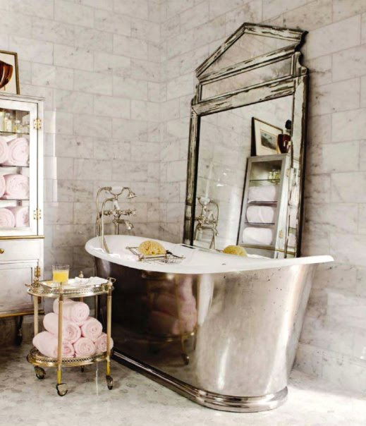 Decoracion Baño Retro:Vintage Bathroom