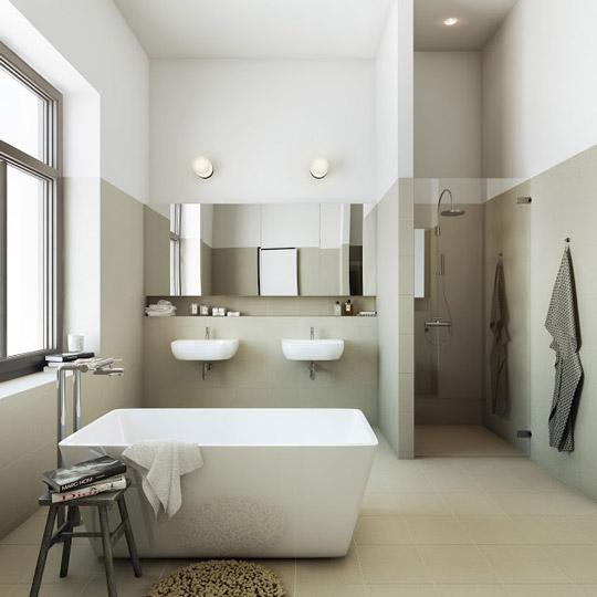 Ideas Baños Minimalistas:Bathrooms with Standalone Sink
