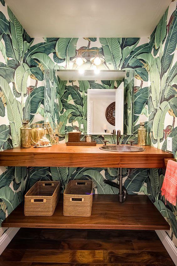 decoración tropical
