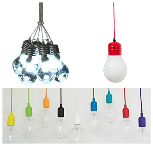 Tendencias iluminación: bombillas colgantes