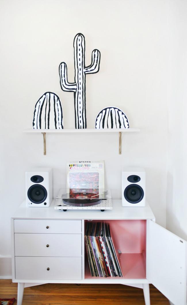 DIY Cactus con luz