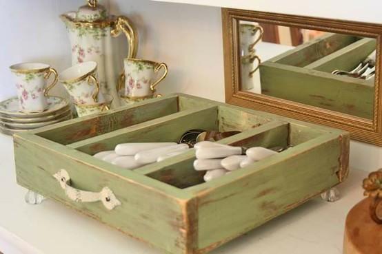 reutilizar y reciclar objetos para en decorativos originales eso es lo que puedes hacer con pequeos cajones desechados