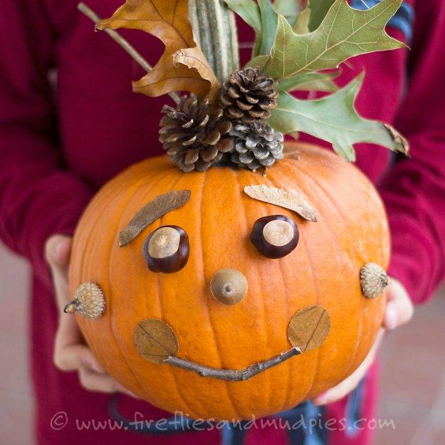 Inspiración para decorar calabazas de Halloween