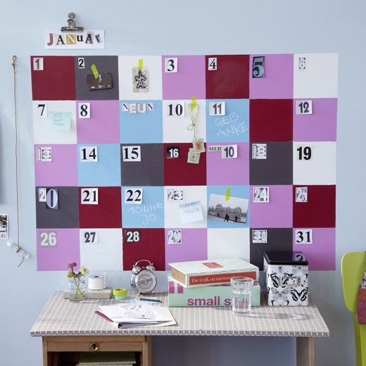 calendarios originales para hacer en
