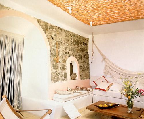 Salon r stico ideas para decorar decoraci n hogar ideas - Decoracion de techos rusticos ...