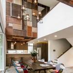 Un hogar rústico comtemporáneo