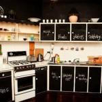 Ideas cocinas, decorar las puertas de los muebles