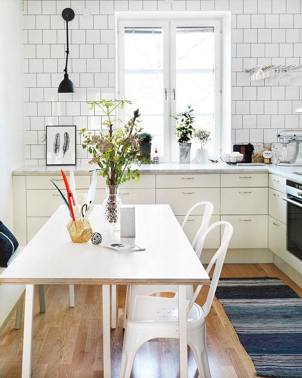 10 Cocinas blancas