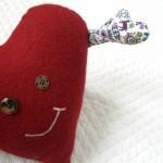 Como hacer un cojín con forma de corazón
