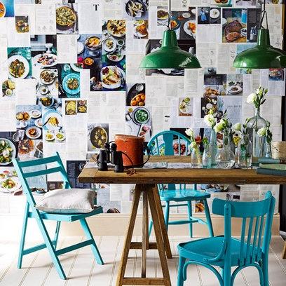 Fotos de comedores estilo vintage decoraci n hogar for Departamentos decorados estilo vintage