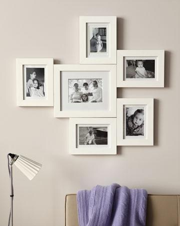 Marcos de fotos conectados