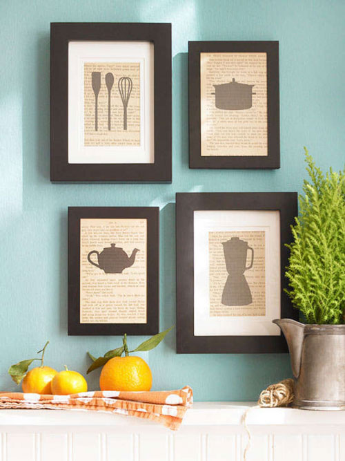 Azulejos Baño Cuadritos:Easy Kitchen Wall Art _ Azulejos Baño Cuadritos