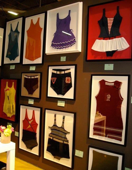 Decorar con colecciones: trajes de baño