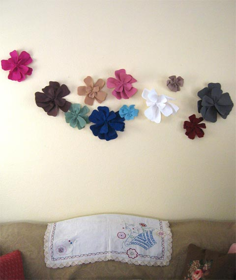 decoracion-flores-pared