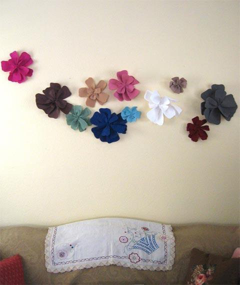 decoracion-flores-pared