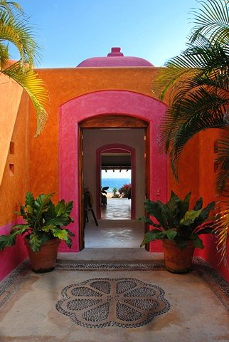 Decoración mexicana, explosión de color