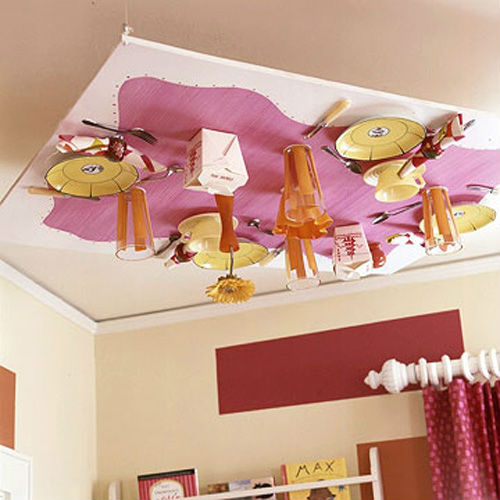 Decorar el techo de una habitación infantil