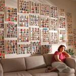 Decorar con colecciones: gomas de borrar