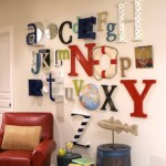 Ideas para decorar con letras
