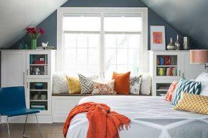 10 Dormitorios abuhardillados muy acogedores