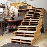Ideas con palets: una escalera
