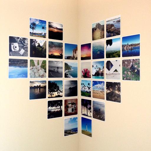 Decorar con fotos las paredes