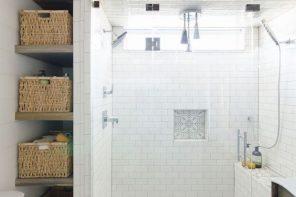 Cómo ganar espacio en el baño
