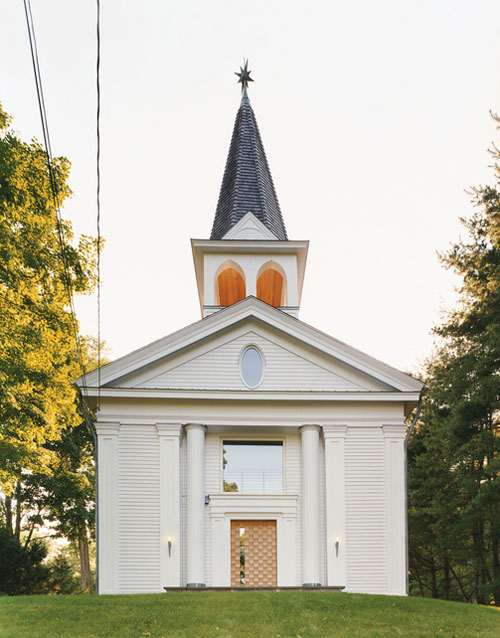 Vivir en una iglesia