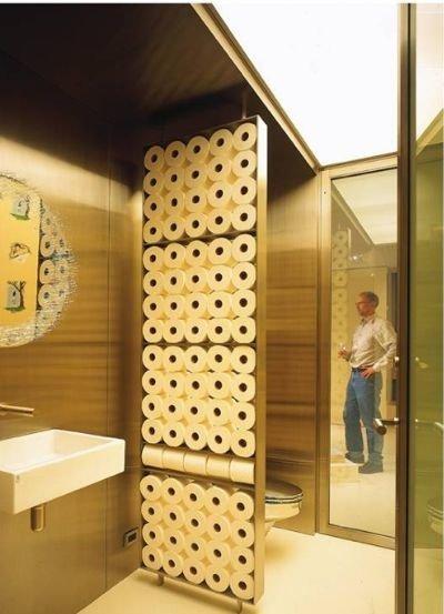 Idea organizativa para el baño