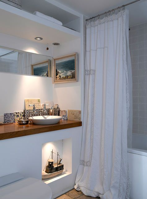 Decoracion Baño Ideas:Baños pequeños como aprovechar el espacio