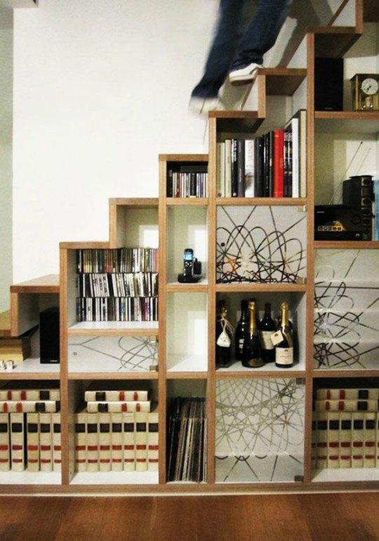 Organizaci n bajo la escalera decoraci n hogar ideas y - Ideas para el hogar decoracion ...