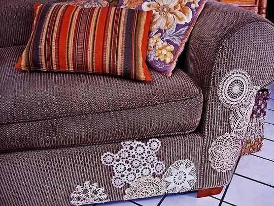 Personalizar el sofá