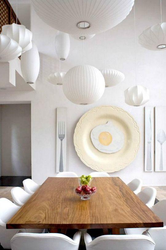 Ideas Decoracion Comedor Moderno ~ Decoraci?n comedores blancos