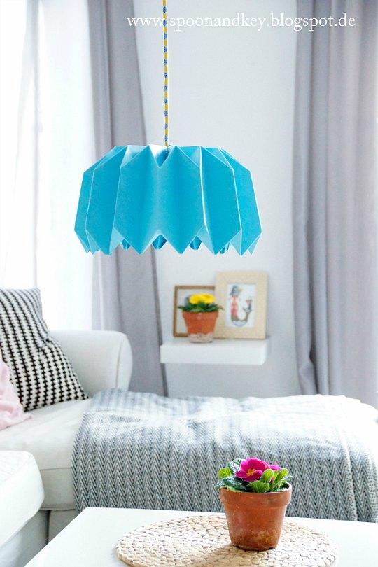 Lámparas de origami, 4 tutoriales