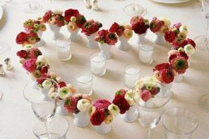 Decorar tu mesa en San Valentín